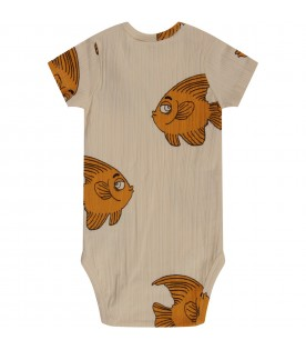 Ivory body for babykid with fishes