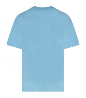 Light blue girl T-shirt with logo