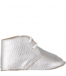 Silver babygirl shoes
