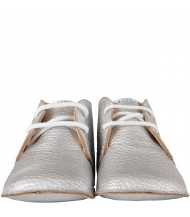 Silver shoes for babykids