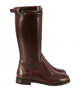 Brown girl boots