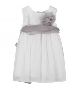 White dress for baby girl