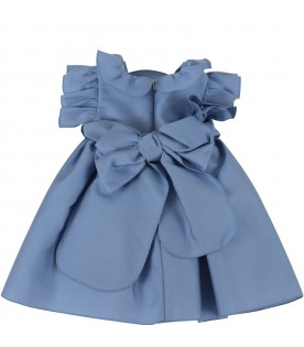 Light blue dress for baby girl
