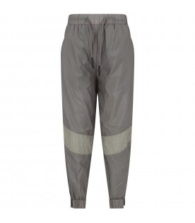 Green boy pant with logo