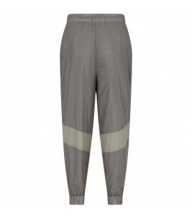 Green pant for boy with logo