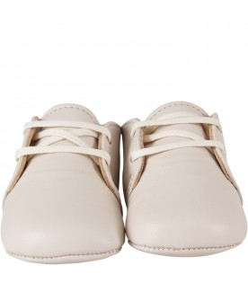 Ivory shoes for babykid