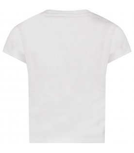 White girl T-shirt with iconic eye