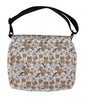 White babykids changing bag with Teddy Bears