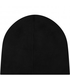 Black girl hat with logo