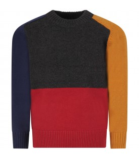 Color block sweat for boy