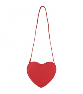 Red girl bag