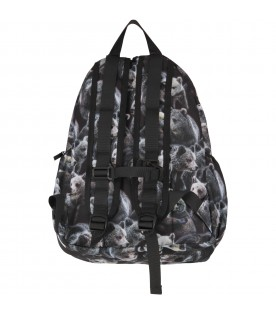 Black kids back pack with bears