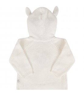 Ivory babykids blanket with ears