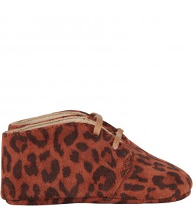Brown babygirl shoes