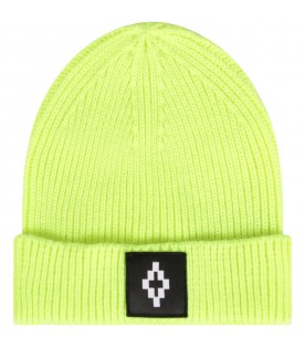 Neon yellow hat for kid