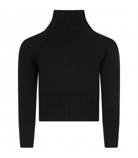 Black sweater for girl