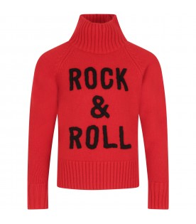 Red sweater for girl