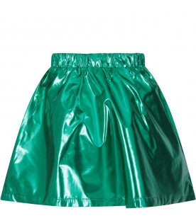 Green skirt for girl