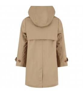 Biege trench coat for kids