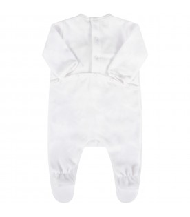 White set for babykids with bear
