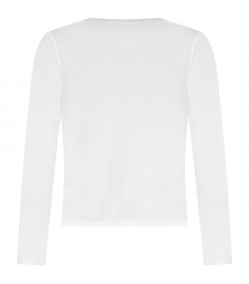 White T-shirt for kids with writing