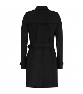 Black tranch coat for kids