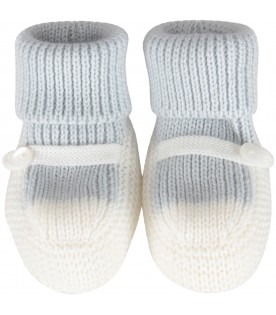 Multicolor baby bootee for baby boy