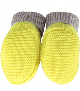 Multicolor bootee for babyboy