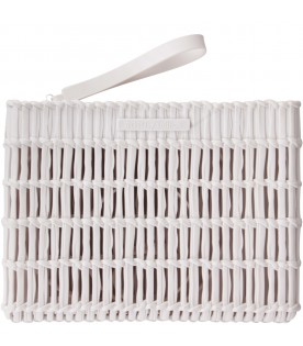 Ivory clutch bag for girl