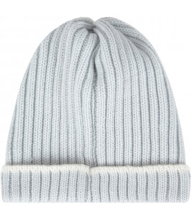 Light blue hat for babykid