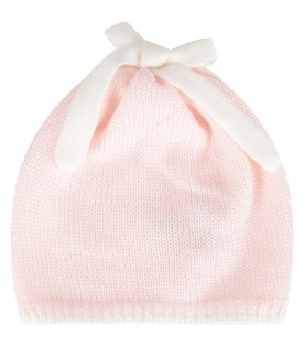Multicolr hat for baby girl