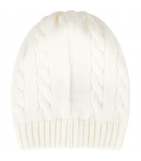 Ivory hat for babykid