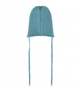 Turquoise hat for babyboy