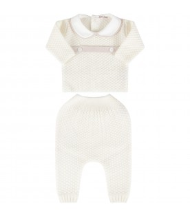Ivory suit for babygirl