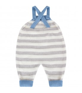 Multicolor overall for baby boy