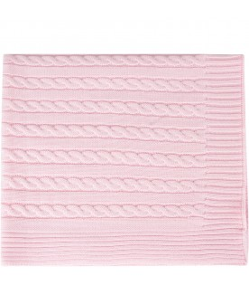 Pink blanket for baby girl