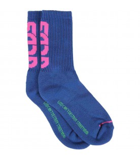 Blue socks for girl