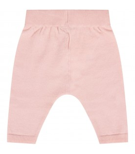 Pink pants for baby girl