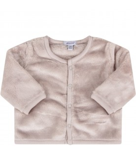 Beige cardigan for babykids