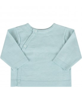 Teal cardigan for babykids