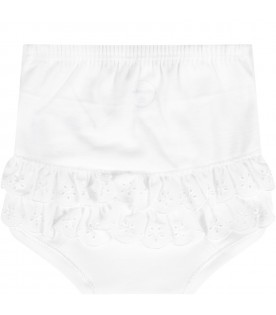 White set for baby girl