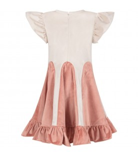 Ivory ''Mio'' dress for girl