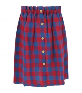 Bicolor skirt for girl