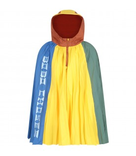 Multicolor poncho for kids