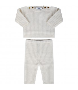 Ivory suit for babykids