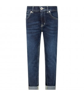 Blue ''George'' jeans for boy