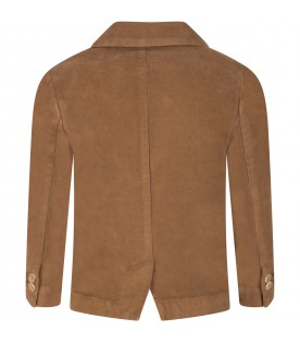 Brown ''Mico'' jacket for boy