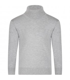 Grey ''Ector'' turtleneck for kids