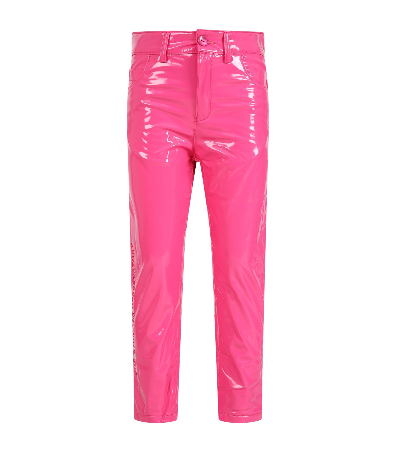 The Animals Observatory Fuchsia trousers for girl with logo