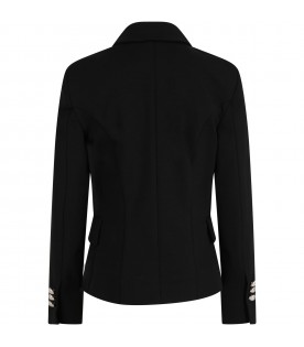Black jacket for girl